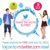 Send tweets for free until July 31 with SMART!