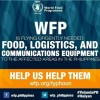 World Food Programme is accepting donations for the typhoon affected families in the Philippines