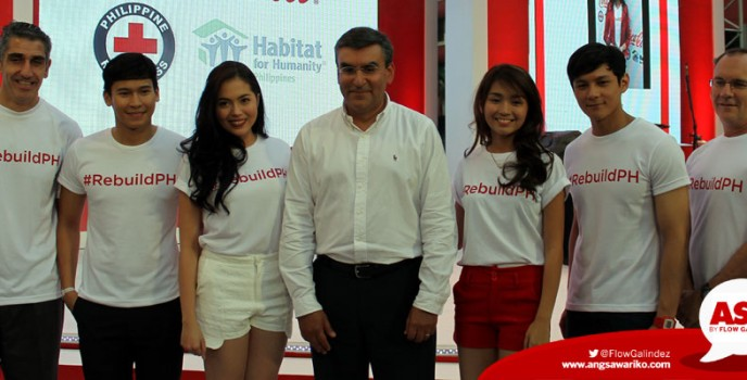 Coca-Cola joins Habitat for Humanity and Philippine Red Cross in nation building with RebuildPH campaign