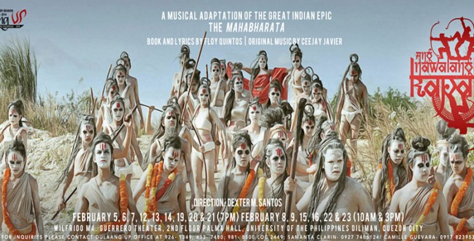 "Dulaang UP presents Indian epic inspired musical ""Ang Nawalang Kapatid"""