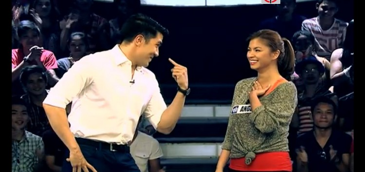 Angel Locsin is one of the players in the last two weeks of Minute To Win It
