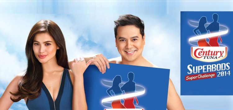 Anne Curtis and John Lloyd Cruz join force for the Century Tuna Superbods Super Challenge 2014