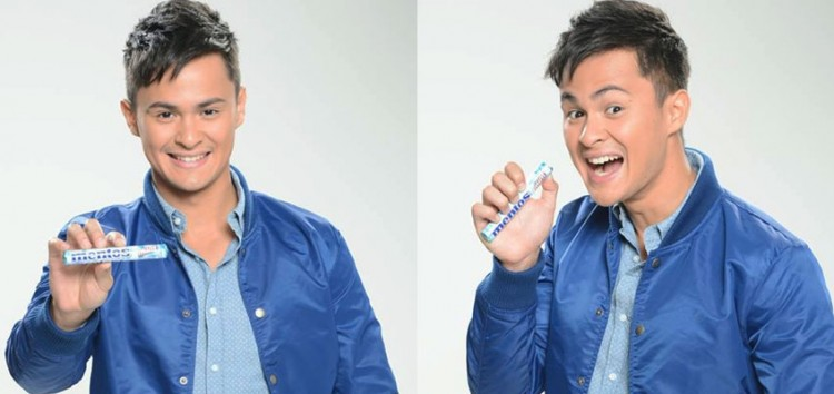 Matteo Guidicelli is the first ever Mentos celebrity endorser in the Philippines