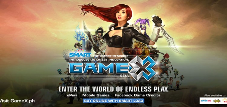 GameX: Your SMART powered one stop for your online and mobile gaming needs