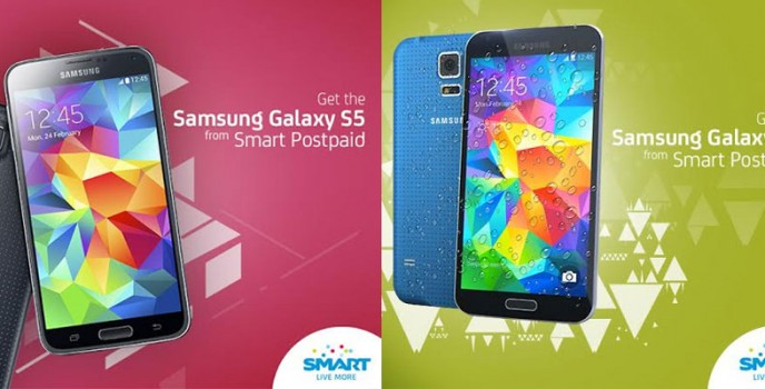 Samsung Galaxy S5 to be available under SMART Postpaid's UnliSurf Plan 2000