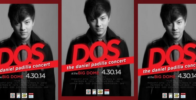 DOS: The Daniel Padilla Concert at the Big Dome on April 30
