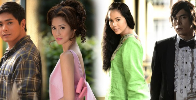 Publicity photos of Ikaw Lamang cast