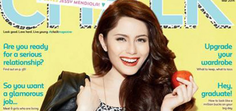 Jessy Mendiola on the cover of Chalk Magazine March 2014