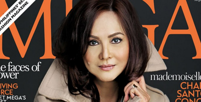 ABS-CBN President Charo Santos-Concio is Mega Magazine's cover for March 2014