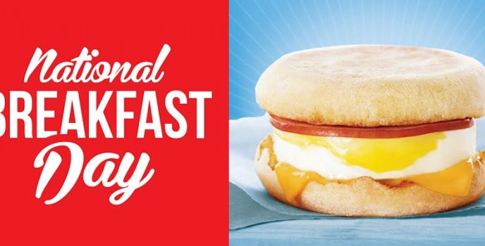McDonald's to give away thousands of free McMuffins on the 2nd National Breakfast Day