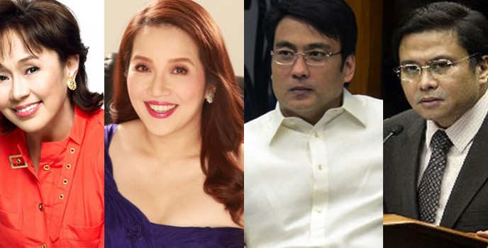 Vilma Santos, Kris Aquino, Bong Revilla and Jinggoy Estrada possible contenders in the 2016 election?
