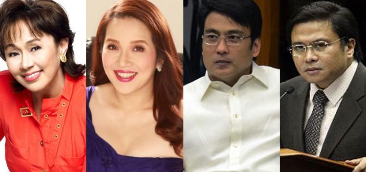 Vilma Santos, Kris Aquino, Bong Revilla and Jinggoy Estrada possible contenders in the 2016 election?