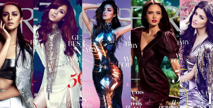 Metro Magazine celebrates 25 years with Marian Rivera, Kim Chiu, Toni Gonzaga, Megan Young and Liza Soberano