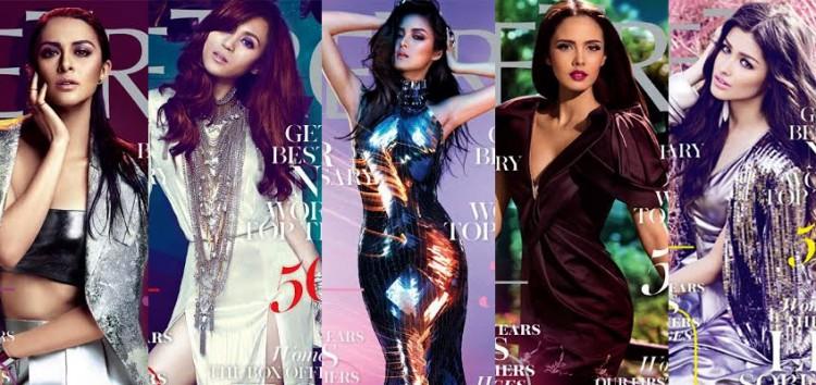 Metro Magazine celebrates 25 years with Marian Rivera, Kim Chiu, Toni Gonzaga, Megan Young and Liza Soberano