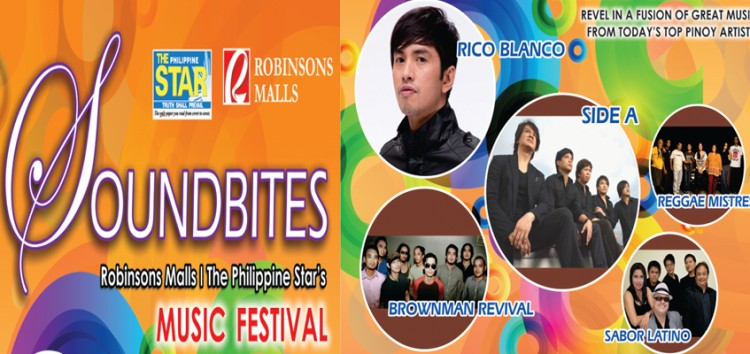 Robinsons Mall brings Soundbites – a 3-weekend of great food and music