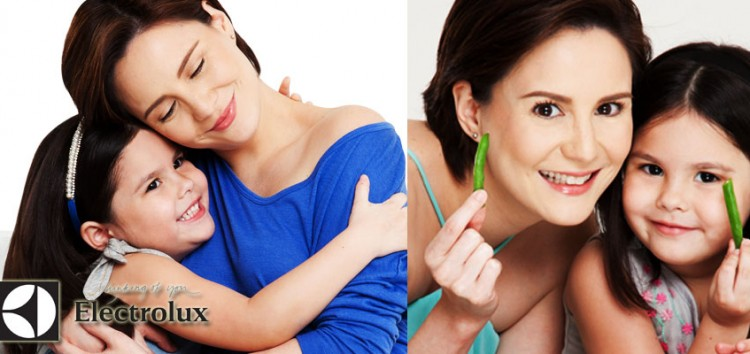 Team Kramer's Mother-daughter Cheska and Kendra joins Electrolux family