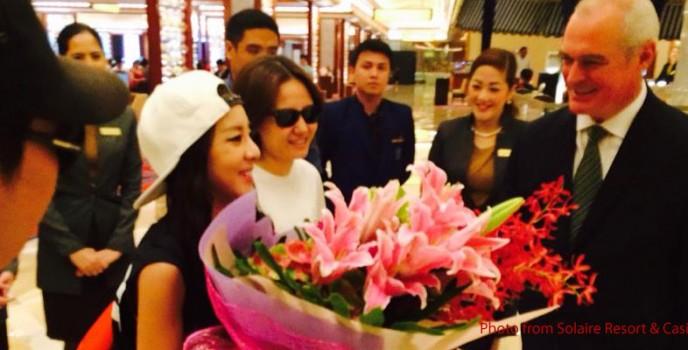 "Sandara ""Dara"" Park of 2NE1 is back in the Philippines"