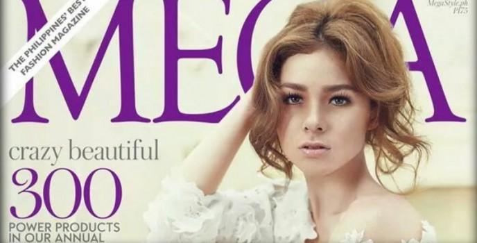 Andi Eigenmann on Mega Magazine's May cover