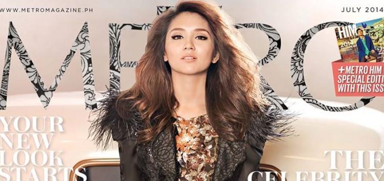 Teen Queen Kathryn Bernardo graces Metro Magazine July issue