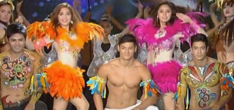 Video: Kim Chiu and Maja Salvador showdown at the Mardi Gras production number in ASAP 19