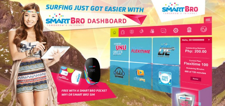 Smart Bro Dashboard: The smartest way to check your internet usage and expenses