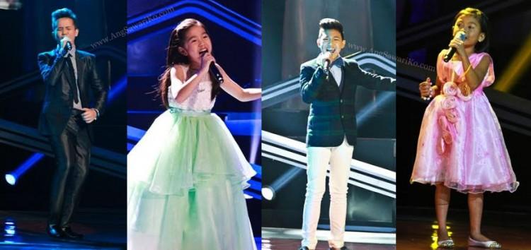 Video: The Voice Kids Grand Finals Power Ballad Round performances