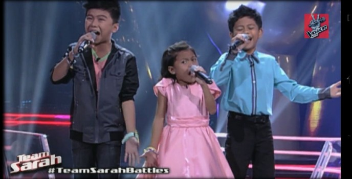 Video: Breathtaking performance of Lyca, Lee and Isaac of Iisang Lahi