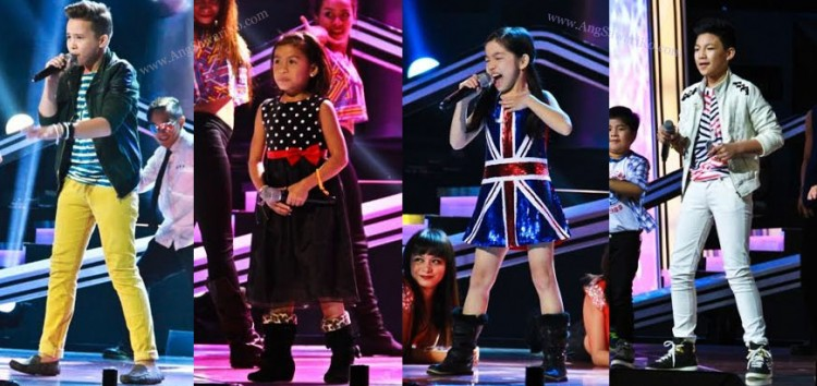 Video: Up-Beat performances of Lyca, Darren, Juan Karlos and Darlene at The Voice Kids Grand Finals