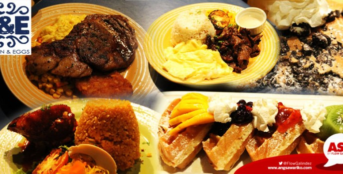 Heaven & Eggs offers your favorite comfort foods all-day long in Glorietta 4