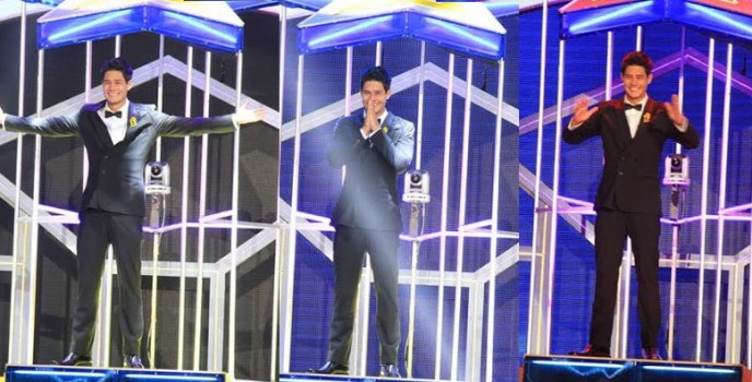 Photo: Daniel Matsunaga's winning moment in the Pinoy Big Brother All In: The Big Night