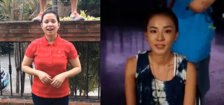 Lea Salonga and Sandara Park take on the ALS Ice Bucket Challenge