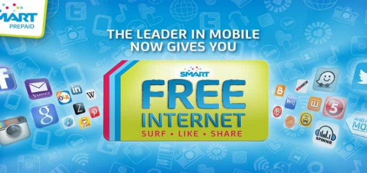 Prepaid users of SMART, Sun and TNT to enjoy Free Mobile Internet until Nov. 30