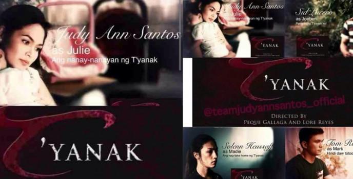 Judy Ann Santos stars in the movie remake of the 1988 classic horror film T'yanak