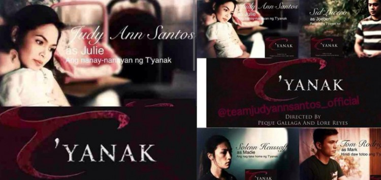 Judy Ann Santos stars in the movie remake of the 1988 classic horror film T'yanak