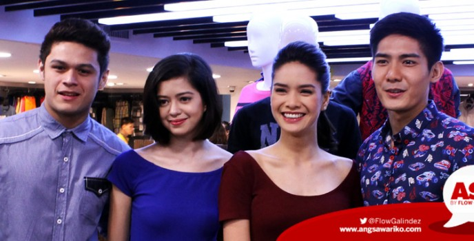 Erich Gonzales, Sue Ramirez, Robi Domingo and Jon Lucas grace the opening of Surplus SM City North EDSA branch