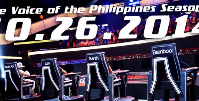 The journey for the next singing superstar begins in The Voice of the Philippines Season 2 on Oct 26