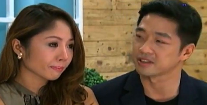 On I Do: Chris Tan and Karen Bordador decided to quit the competition few days before the final ceremony