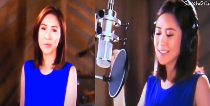 Disney picks Sarah Geronimo to sing The Glow