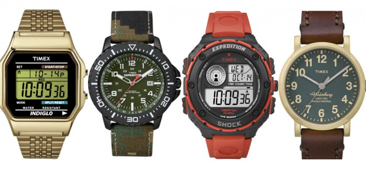 TIMEX celebrates 160 Years with timeless designs to fit all personality