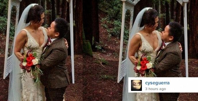 Aiza Seguerra and Liza Dino officially married