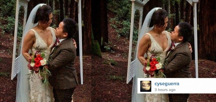 Aiza Seguerra and Liza Dino officially married