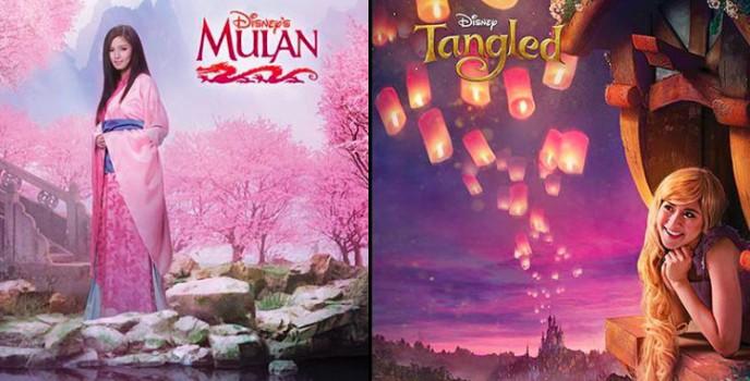 Disney Southeast Asia unveils the Mulan and Rapunzel look of Kim Chiu and Sarah Geronimo