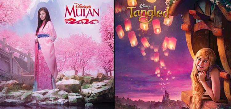 Disney Southeast Asia unveils the Mulan and Rapunzel look of Kim Chiu and Sarah Geronimo