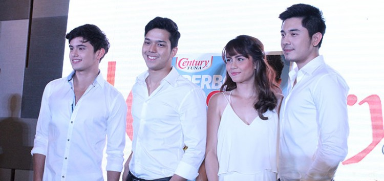 Century Tuna welcomes James Reid, Elmo Magalona, Paulo Avelino and Jessy Mendiola in the Superbods family