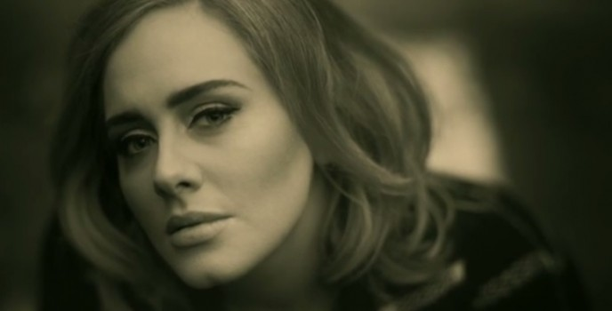 """Adele is back with """"Hello"""" music video!"""