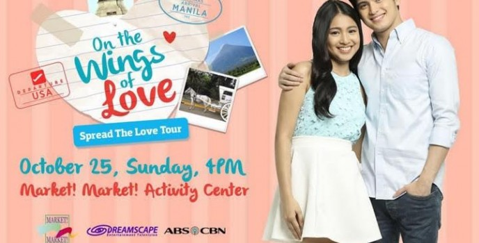 James Reid and Nadine Lustre all set to spread love to all OTWOListas on Oct 25