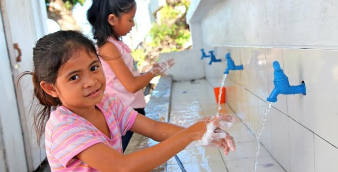 UNICEF and DOH join force to promote the importance of keeping our hands clean to a healthy life