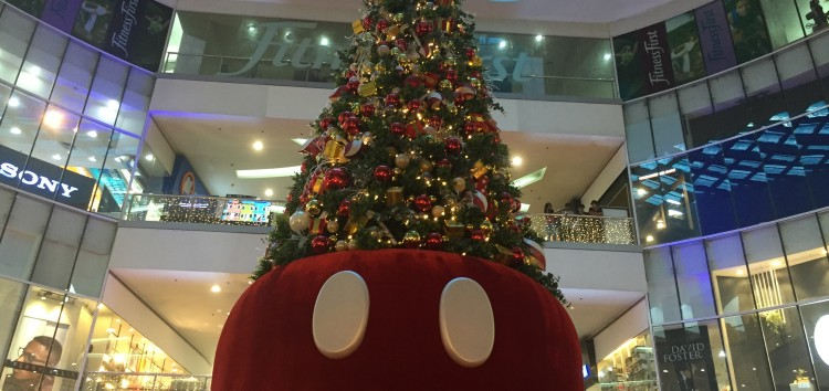 Celebrate Christmas with your favorite Disney characters in SM Supermalls