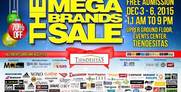 Megabrands Sale Christmas Rush at Tiendesitas on Dec 3-6