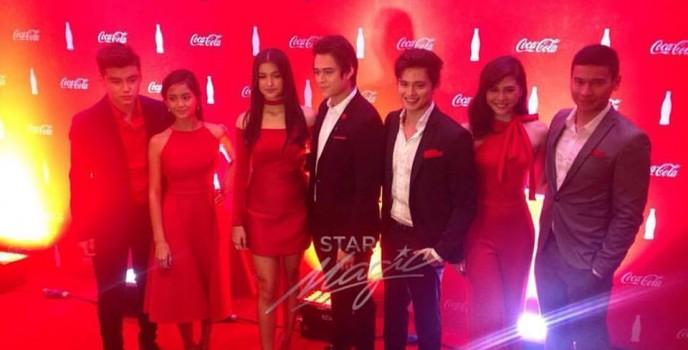 LizQuen, BaiLona and James Reid join the Coca-Cola family